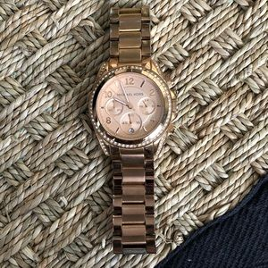 Michael Kors Rose Gold Bracelet Watch